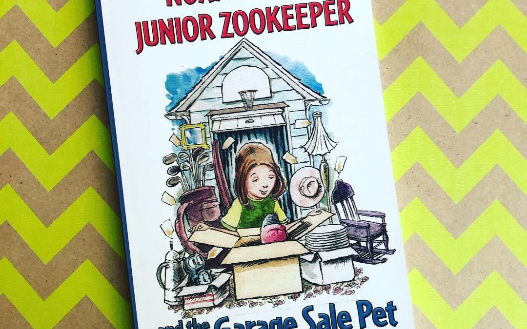 Cover Reveal: Noah Green Junior Zookeeper and the Garage Sale Pet