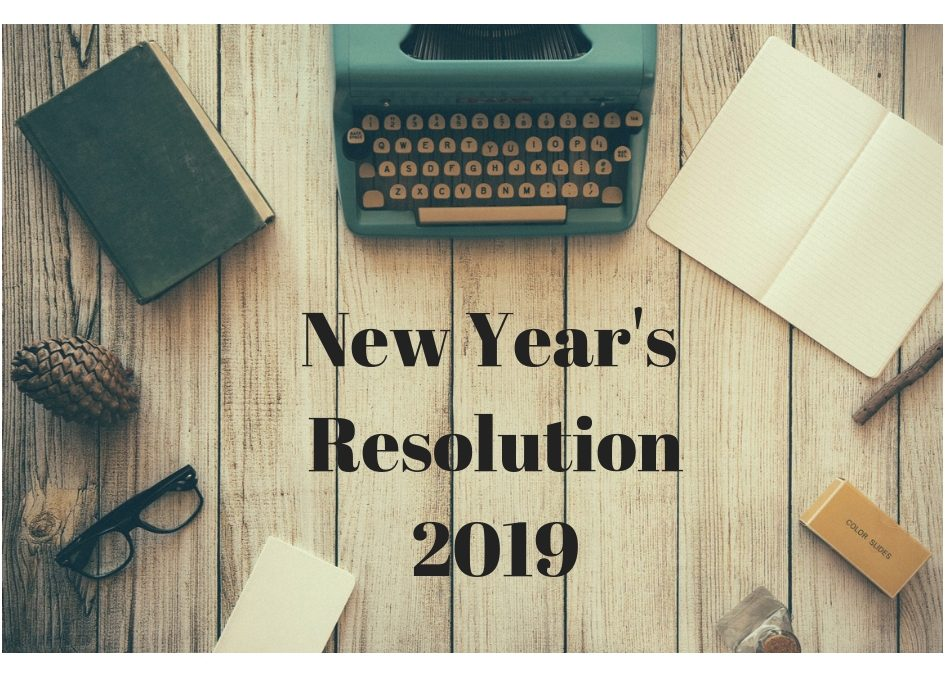 New Year's Resolution 2019